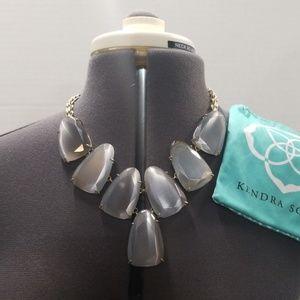 Kendra Scott Gray Harlow necklace